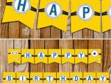 Minion Happy Birthday Banner Printable totally Free Minions Party Printables Set Happy Birthday