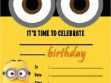 Minions Birthday Invitations Free Online 25 Best Ideas About Minion Birthday Invitations On
