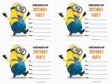 Minions Birthday Invitations Free Online 40th Birthday Ideas Minion Birthday Invitations Templates
