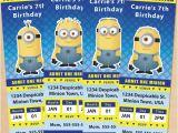 Minions Birthday Invitations Free Online Free Printable Despicable Me Minion Ticket Invitations