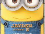Minions Birthday Invitations Free Online Minion Birthday Invitation 2015 Minion Movie Invitations