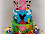 Minnie and Mickey Decorations for Birthday Best 25 Mickey Mouse Clubhouse Cake Ideas On Pinterest