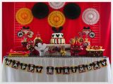 Minnie and Mickey Decorations for Birthday Just A Little Party Twin Boy Girl Mickey Minnie