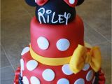 Minnie and Mickey Decorations for Birthday Minnie Mickey Mouse Cake Cakecentral Com