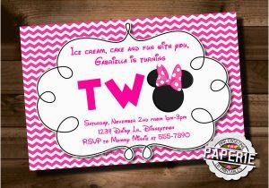 Minnie Birthday Invitation 23 Awesome Minnie Mouse Invitation Templates Psd Ai