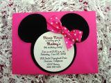 Minnie Birthday Invitation 3 Beautiful Free Printable Minnie Mouse Birthday Party
