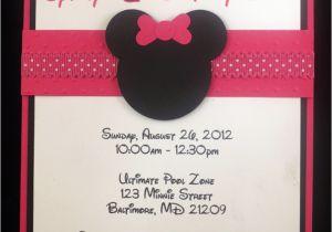 Minnie Birthday Invitation Minnie Mouse Birthday Invitations Ideas Bagvania Free