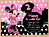 Minnie Invitations for Birthdays Minnie Mouse Invitation Minnie Mouse Birthday Invitation