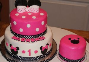 Minnie Mouse 1st Birthday Cake Decorations Cakecentral Com