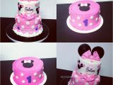 Minnie Mouse 1st Birthday Cake Decorations My Cake Sweet Dreams Minnie Mouse 1st Birthday Cake