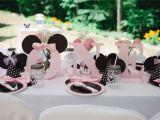 Minnie Mouse 1st Birthday Decoration Ideas Light Pink Minnie Mouse First Birthday Party