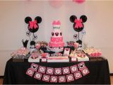 Minnie Mouse 1st Birthday Decoration Ideas Minnie Mouse Birthday Party Ideas Photo 1 Of 33 Catch