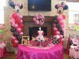 Minnie Mouse 1st Birthday Decoration Ideas Minnie Mouse Birthday Quot Ellie 39 S 1st Birthday Celebration