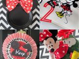 Minnie Mouse 2nd Birthday Decorations 2nd Birthday Party Minne Mouse theme Cakes Likes A Party