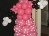 Minnie Mouse Birthday Balloon Decorations Balloon Decor Of Central California Home