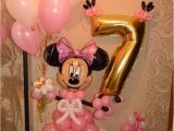 Minnie Mouse Birthday Balloon Decorations istochnik Internet Balloon Decorations Pinterest Mice
