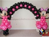 Minnie Mouse Birthday Balloon Decorations Minnie Mouse Balloon Decorations Houston Kids Party