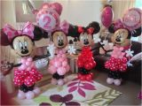 Minnie Mouse Birthday Balloon Decorations Minnie Mouse Party Balloon Sculture Display