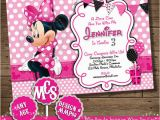 Minnie Mouse Birthday Invitations Diy 11 Minnie Mouse Birthday Invitations Psd Vector Eps