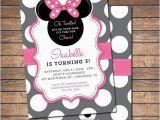 Minnie Mouse Birthday Invitations Diy Diy Minnie Mouse Invitation Domaindir Info