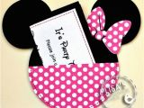 Minnie Mouse Birthday Invitations Diy Minnie Mouse Birthday Party Ideas Pink Lover