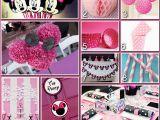Minnie Mouse Birthday Party Decoration Ideas Disney Donna Kay Magical Blogorail Minnie Mouse