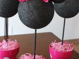 Minnie Mouse Birthday Party Decoration Ideas Minnie Mouse Centerpiece Decorations Simply Being Abby