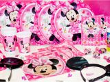 Minnie Mouse Birthday Party Decoration Ideas Minnie Mouse Party Supplies Party Favors Ideas