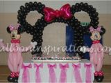 Minnie Mouse Birthday Party Decoration Ideas Minnie Mouse themed Party Archives Ballooninspirations Com
