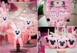 Minnie Mouse Decoration for Birthday Party Disney Minnie Mouse Girl Pink themed Birthday Party