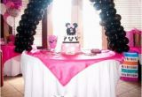 Minnie Mouse Decoration for Birthday Party Minnie Mouse Birthday Party Ideas Pink Lover