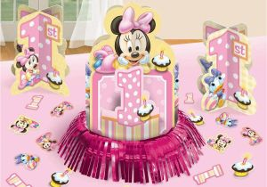 Minnie Mouse Decorations for 1st Birthday Baby Minnie Mouse Decorations Best Baby Decoration