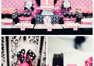 Minnie Mouse Decorations for 1st Birthday Minnie Mouse 1st Birthday