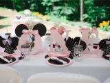 Minnie Mouse First Birthday Party Decorations Light Pink Minnie Mouse First Birthday Party