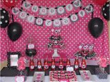 Minnie Mouse First Birthday Party Decorations Minnie Mouse Birthday Party
