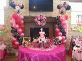 Minnie Mouse First Birthday Party Decorations Minnie Mouse Birthday Quot Ellie 39 S 1st Birthday Celebration