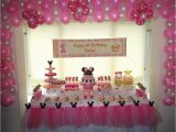 Minnie Mouse First Birthday Party Decorations Minnie Mouse Birthday Quot Minnie Mouse Pink and Yellow