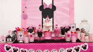Minnie Mouse themed Birthday Party Decorations 35 Best Minnie Mouse Birthday Party Ideas Birthday Inspire
