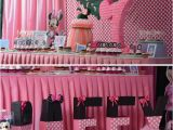 Minnie Mouse themed Birthday Party Decorations Kara 39 S Party Ideas Minnie Mouse themed Birthday Party Via