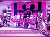 Minnie Mouse themed Birthday Party Decorations Minnie Mouse Vintage Birthday Tulips event Management