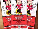 Minnie Mouse Ticket Birthday Invitations 30 Best Images About Invitations On Pinterest Minnie