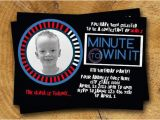 Minute to Win It Birthday Party Invitations Items Similar to Minute to Win It Birthday Party Invite On