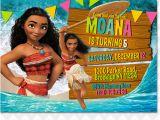 Moana Birthday Invitations Walmart Ithinkparty Moana Invitation Moana Invites Moana