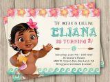 Moana Birthday Invitations Walmart Moana Birthday Invitation Baby Moana Invitation Baby Moana