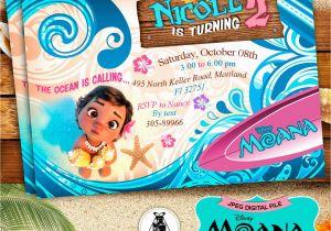 Moana Birthday Invitations Walmart Invitation Party