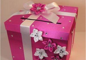 Money Card Boxes For Birthdays Items Similar To Wedding Card Box