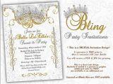 Money Tree Invitation Wording Birthday Bling Diamond Party Invitations Quinceanera Invitation Party