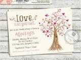 Money Tree Invitation Wording Birthday Bridal Shower Invitation Wedding Shower Invite