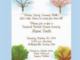 Money Tree Invitation Wording Birthday Bridal Shower Invitations Bridal Shower Invitations