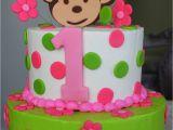 Monkey 1st Birthday Decorations Claudine Pink Mod Monkey 1st Birthday
